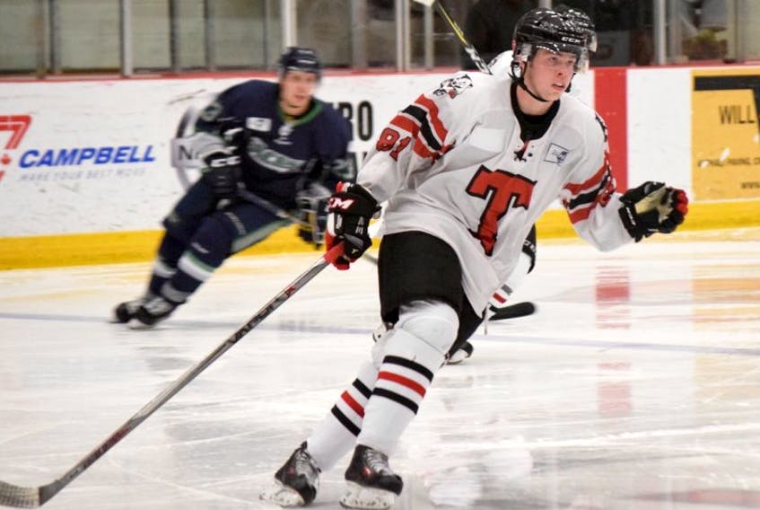 Bearcats forward Cameron MacLeod is a reliable player in all areas of the ice.