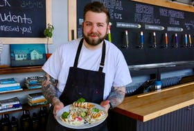 Noah Bedard is serving up a new menu at Schoolhouse Brewery in Windsor and he couldn't be happier.