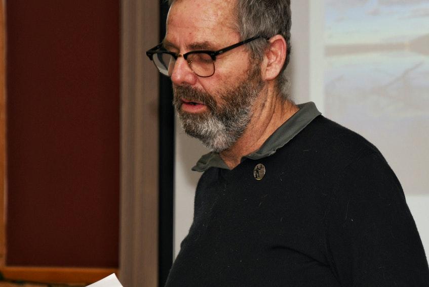 Labrador West Chamber of Commerce president Toby Leon