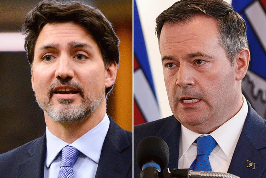 Prime Minister Justin Trudeau and Alberta Premier Jason Kenney.