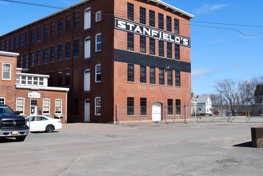 Truro garment manufacturer Stanfield's Ltd., has temporarily ceased production as a safety precaution for employees in light of the COVID-19 pandemic. FILE PHOTO