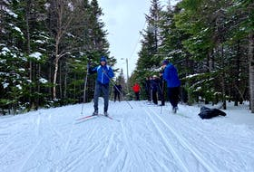 The Tuckamore Ski and Snowshoe Club recently held a ski clinic at Gros Morne National Park led by Graham Oliver from the Whaleback Nordic Ski Club in Stephenville. CONTRIBUTED