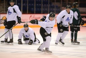Defenceman Will Trudeau is having a strong rookie season with the Charlottetown Islanders.