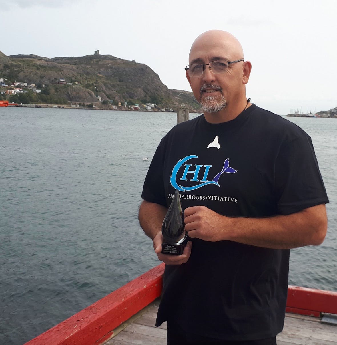 Twillingate native Shawn Bath was recently given the Stan Hodgkiss Outdoorsperson of the Year Award by the Canadian Wildlife Federation. Contributed photo