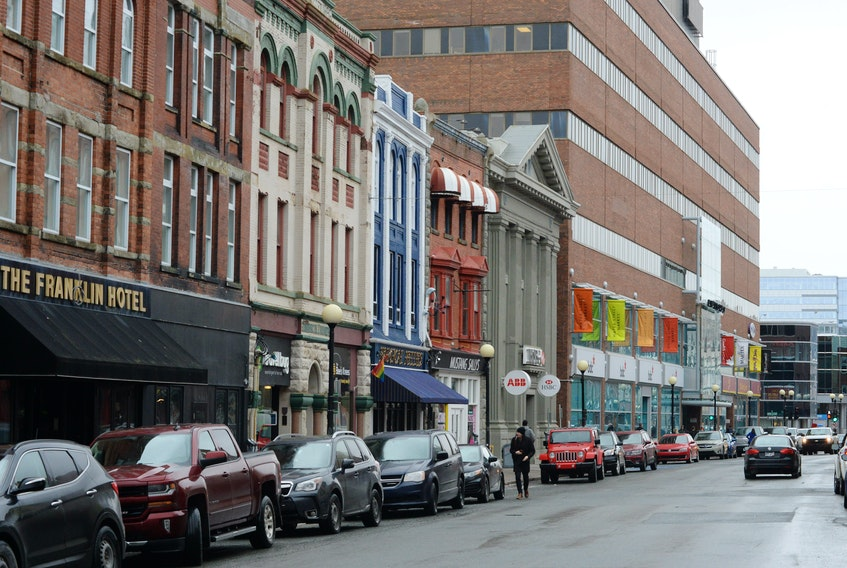 St. John's city council is seeking feedback from downtown businesses on implementing a pedestrian mall on Water Street and Duckworth Street this summer, but some business owners  are critical of the options. TELEGRAM FILE PHOTO