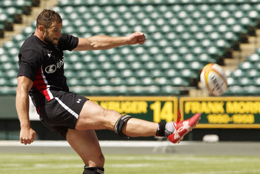 Tyler Ardron is the captain of the Canadian men's national rugby team. (IAN KUCERAK/POSTMEDIA NETWORK)