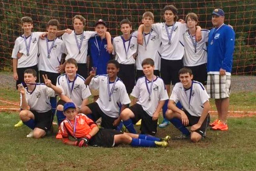 Yarmouth PetValu Clippers U14 boys soccer team wins silver at provincials.