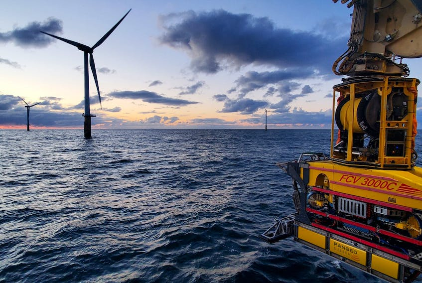 Newfoundland and Labrador company Pangeo Subsea has conducted business in Europe's offshore wind energy sector for a number of years. — Photo by Graham Fox