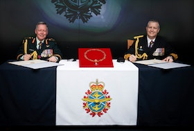 Admiral Art McDonald assumed command of the Canadian Armed Forces from General Jonathan Vance, January 14, 2021. Both men are currently under military police investigation. (Canadian Forces photo)