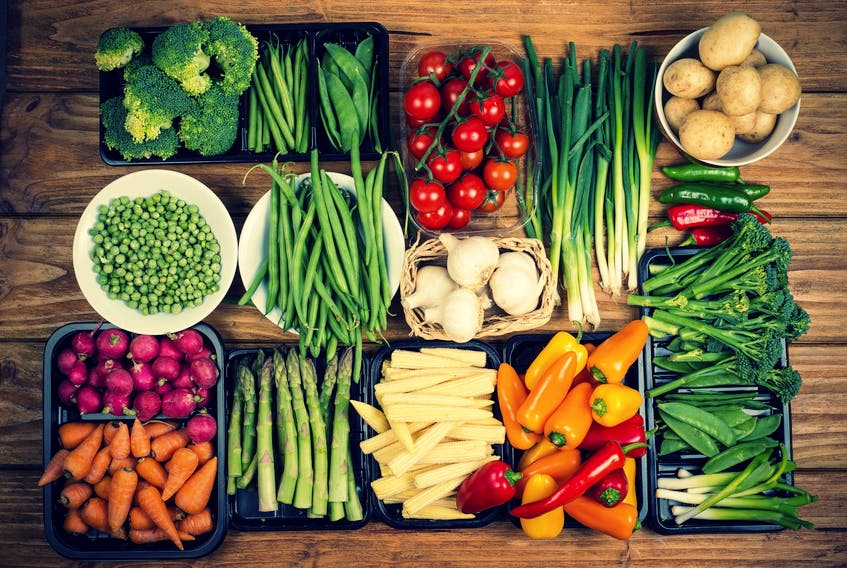 Fruits and vegetables are an important parts of a diet for seniors.