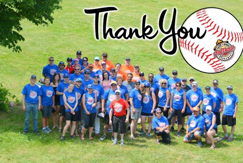 A group photo from the 2015 Fallen Heroes Softball Tournament. It's hoped this year's event will be the biggest yet.