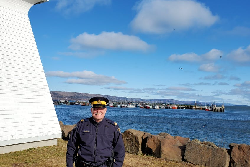 George Cameron is the new sergeant with the Southwest Nova District RCMP. CONTRIUBTED