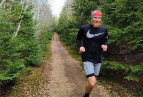 Jake Simmons had returned to running recently after concentrating on basketball for about a decade.