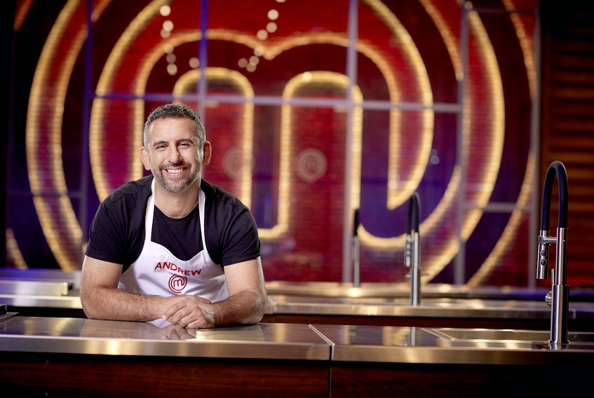 """He placed 10th in the second season of """"MasterChef Canada"""" but now Sydney River native Andrew Al-Khouri will be back for another try in season 7 which begins Feb. 14 on CTV. CONTRIBUTED • GEOFF GEORGE, CTV"""