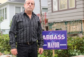 Cape Breton Regional Municipality mayoral candidate Chris Abbass talks about the criticism he's faced on social media and why he thinks he'll be the next mayor. Chris Connors/Cape Breton Post