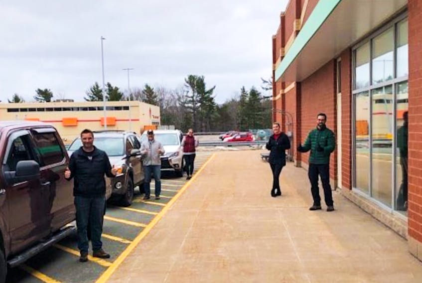 The Kingston-Greenwood Isolation Support Network is working with Sobeys in Greenwood. The idea is to connect area residents stuck at home amid mounting COVID-19 concerns with a free delivery service for essential items. CONTRIBUTED