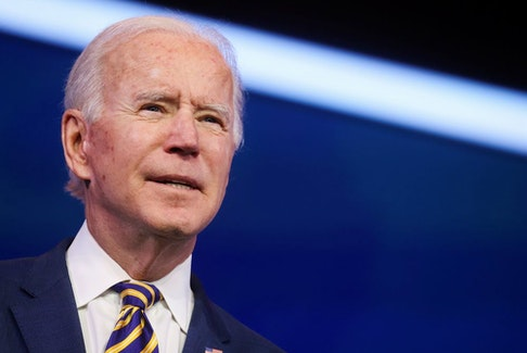 U.S. President-elect Joe Biden.