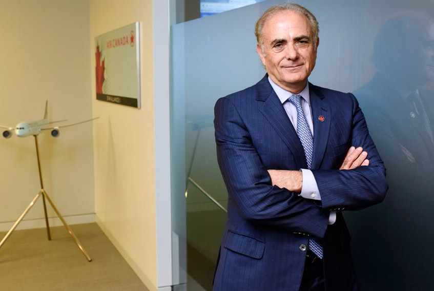 Air Canada CEO Calin Rovinescu in 2016. He will retire from leading the airline in February.