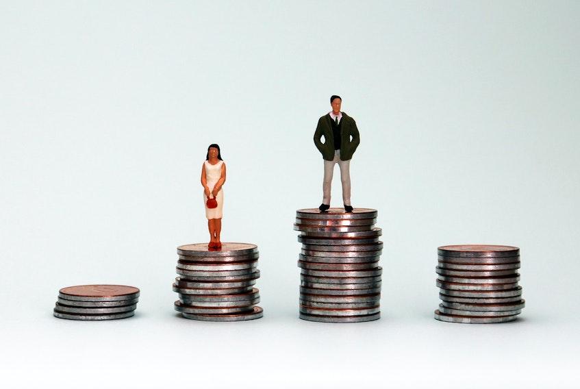 wage gap 123RF Stock Photo