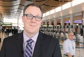 Tyler MacAfee is the vice-president of communications and government relations with the Winnipeg Airports Authority.