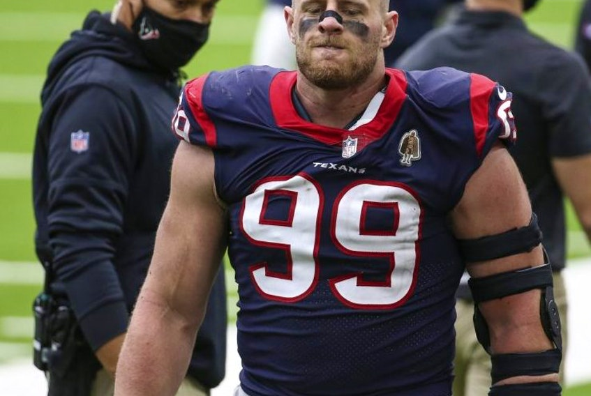 Defensive end J.J. Watt signed with Arizona, partly because his teammate, receiver DeAndre Hopkins, invited him.USA TODAY