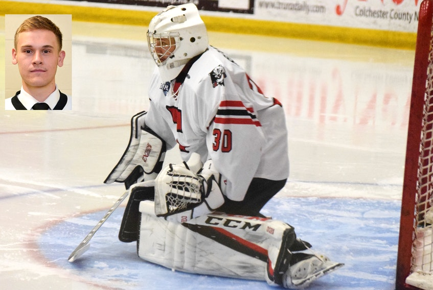 Myles Hektor will play college hockey next season for the University of Wisconsin-Superior Yellow Jackets. Hektor is in his final season of junior hockey eligibility with the Truro Bearcats.