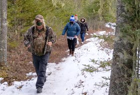 The first wellness walk, one of five in Colchester County and East Hants, took place at MacElmon's Pond.
