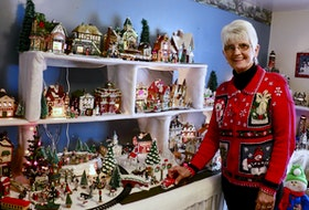 With more than 50 buildings and countless characters and accessories, Debbie Best's Christmas village display takes up the better part of her TV room — and the West Brooklyn resident doesn't mind that one bit.