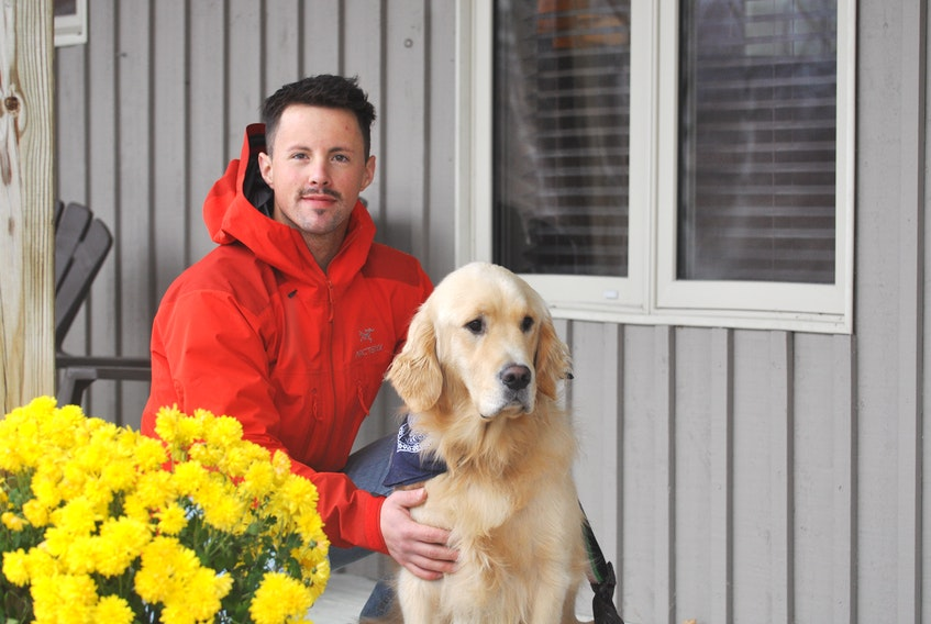 David Critch is discovering that his dog Peyton has a knack for finding lost dogs. They helped located a missing rescue dog from Texas in Corner Brook on Thursday. It's the second time this fall that Peyton has found a missing dog.