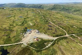 There are a lot of existing tracks and roads Matador Mining can use to access different parts of the Cape Ray gold project. — Matador Mining website