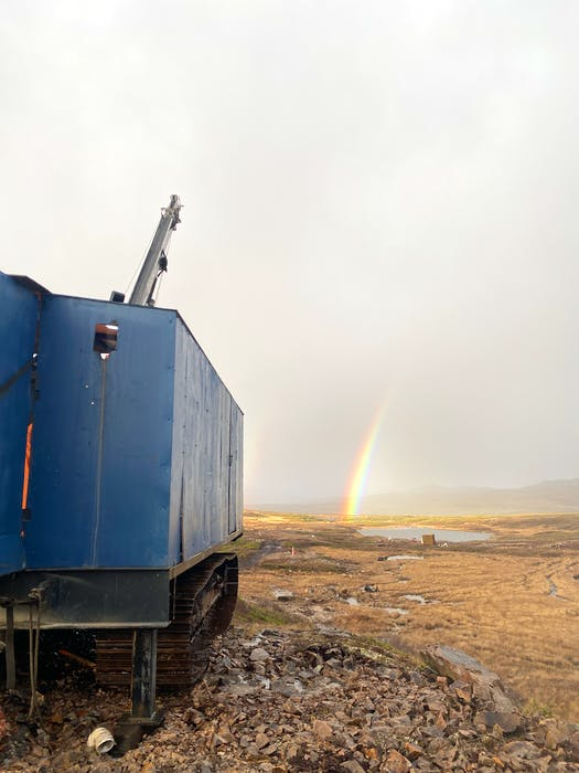 Matador Mining drilling work at the Cape Ray gold project. - Contributed