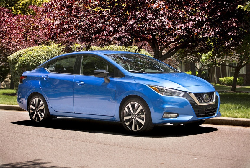 The 2021 Nissan Versa boasts even more safety standards and will start in Canada at under $16,500. Nissan / Handout