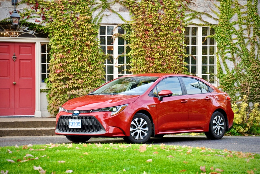 The 2021 Toyota Corolla Hybrid's $24,990 sticker is an agreeable price of entry for a reliable hybrid that should have good resale value, and the long-term fuel savings will add up. Derek McNaughton / Postmedia photo