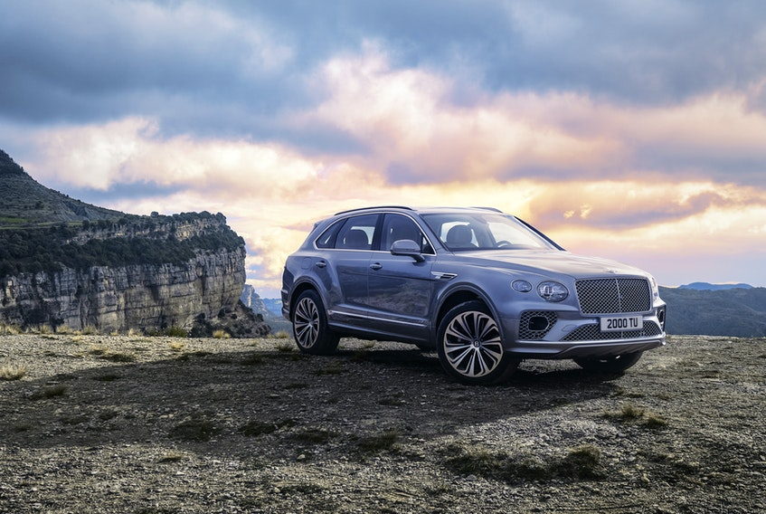 Bentley has debuted a refreshed Bentayga for the 2021 model year. – Handout / Bentley