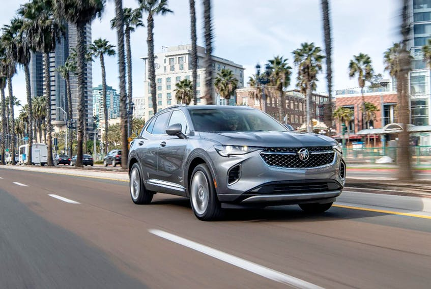 The 2021 Envision is now available in Buick's successful Avenir trim, which provides an elevated level of refinement with exclusive features and design cues. Buick/Handout