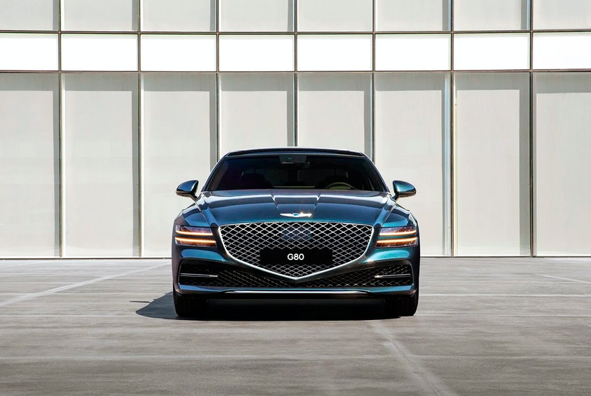 The Genesis G80 was named the Best Mid-Size Premium Car in Canada for 2021. Postmedia News