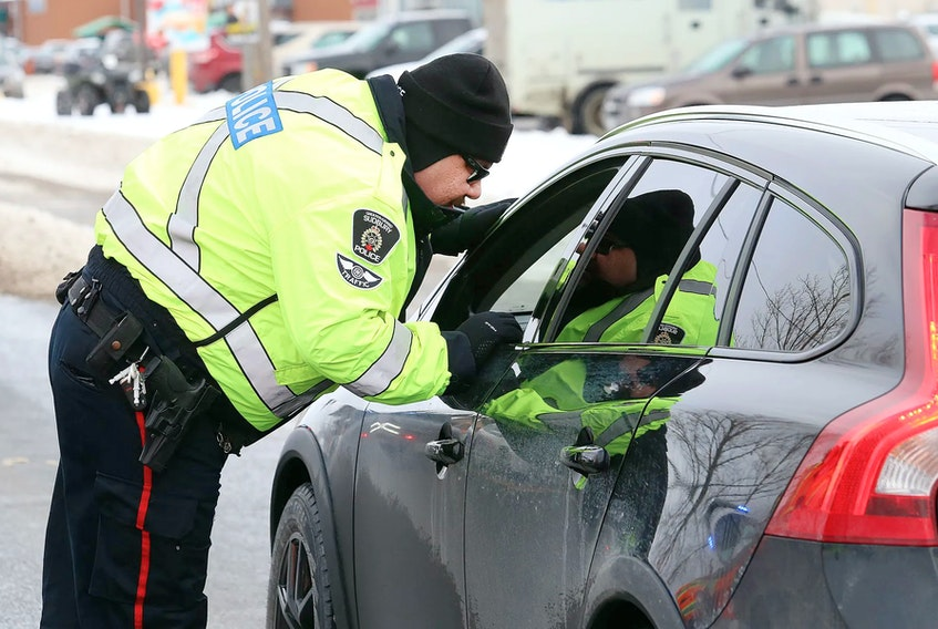 A RIDE (Reduce Impaired Driving Everywhere) program in action. John Lappa/ Postmedia News files