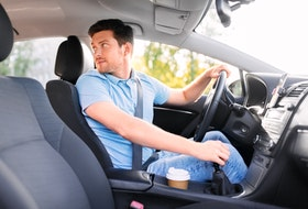 It's always far safer to be facing out from a spot, so reverse into parking spaces whenever possible. 123rf stock photo