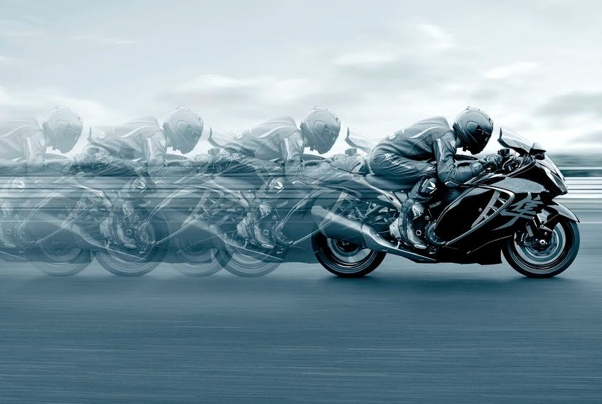 The eagerly anticipated 2022 Hayabusa will be in Suzuki dealerships across the country soon. Handout/Suzuki