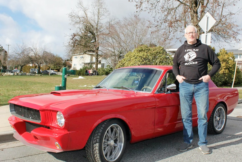 It took Dennis Hilton many years to put his 1965 Mustang together the way he'd always envisioned, and he's pleased with the results. Brad Hodson photo