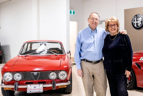 Bob and Carol Merchant bought their 1974 Alfa Romeo GTV new in April 1974. Carol used it as a daily driver the first few years it was on the road, but Bob enjoyed competing in driving events with the GTV — and continues to do so. It has spent the winter on display at Alfa Romeo of Calgary. Bence Horvai/LTL Creative
