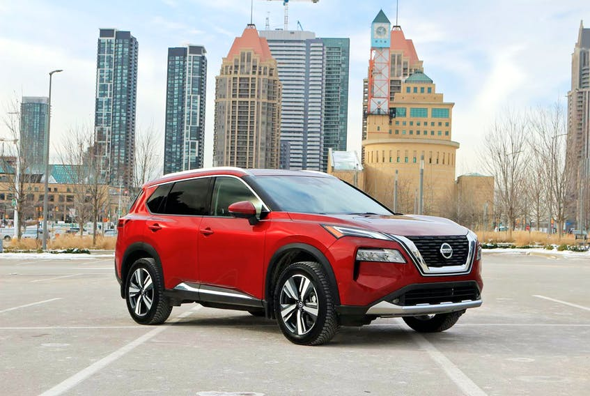 The comfortable, spacious and flexible 2021 Nissan Rogue Platinum is a solid commuter choice. Postmedia News