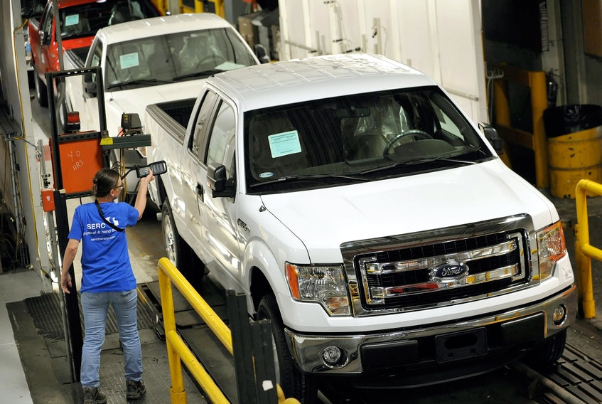 The 2013 Ford F-150 XLT SuperCrew 4×4. Handout/Ford