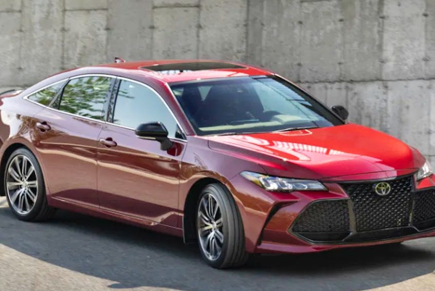 Toyota has received a huge number of Vincentric 2020 Best Value in Canada Awards. DRIVING.CA PHOTO