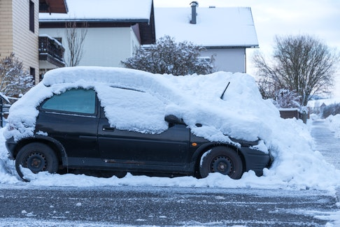 Plenty of cars are being left undriven for extended periods of time this winter as pandemic restrictions limit how often vehicles need to be used. 123rf stock photo