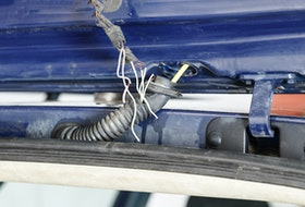 Wiring harnesses that are constantly moved, like in hinge areas, can be more susceptible to electrical issues. 123rf stock photo