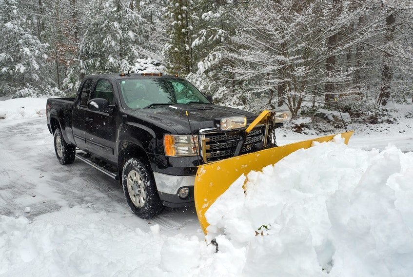 There are some things to consider before you buy a snow plow for your pickup. 123rf stock photo