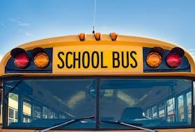 School bus. —Stock