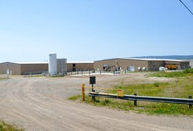This photo shows a section of the Indian Head Salmon Smolt Hatchery in Stephenville which is to be expanded if an environmental assessment gets approval from the Minister of Municipal Affairs and Environment.