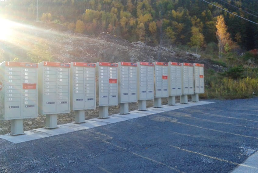 It looks as though Humber Arm South has managed to quell the opposition to the new location of its community mailboxes.